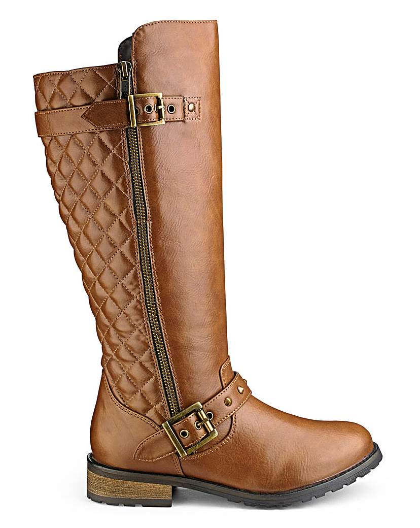Sole Diva Boots Standard Calf EEE Fit.