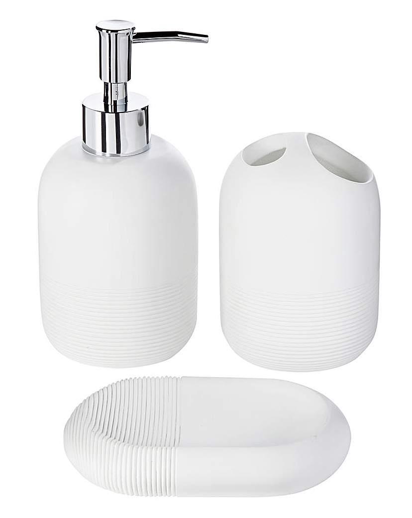 White Hotel Bathroom Accessories