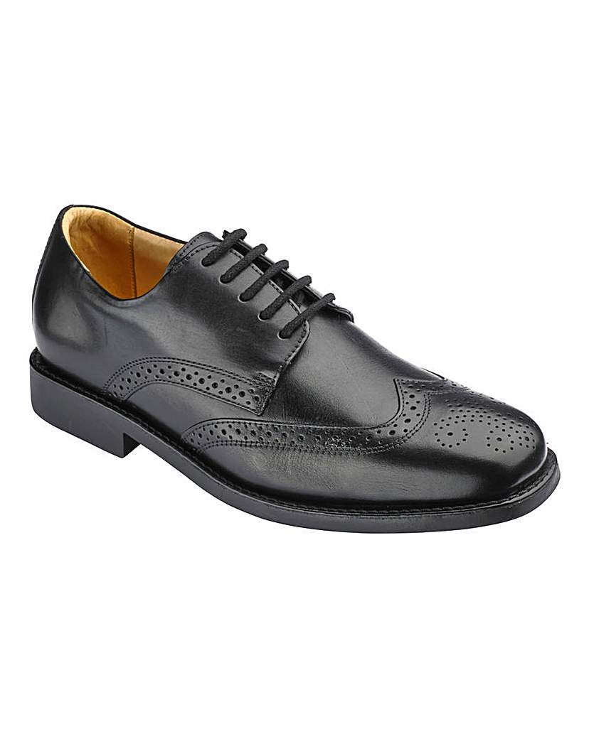 Image of Lace Up Brogue Shoes From Anatomic Gel
