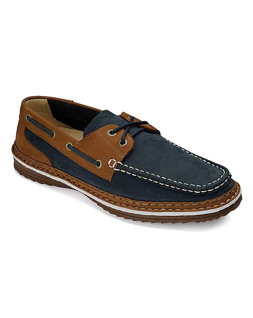 Image of Lace Up Boat Shoes By Air Cool Standard