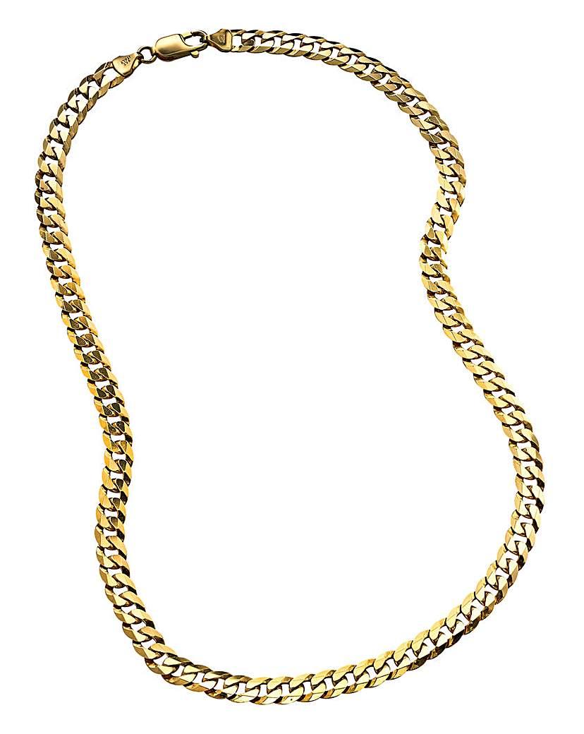 Gents 9 Carat Gold Curb Chain