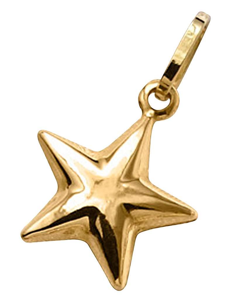 9 Carat Gold Star Charm