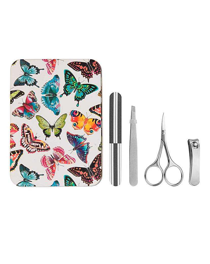 Image of Butterfly Manicure Tin Set