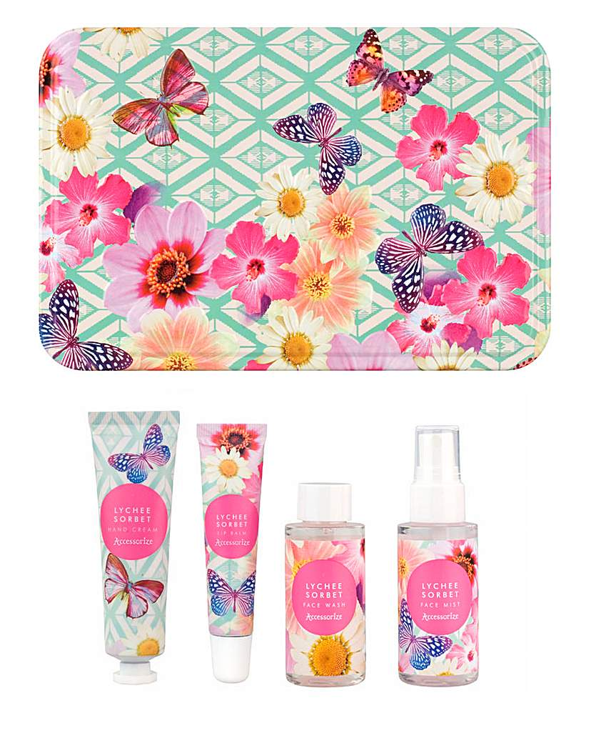 Image of Accessorize Travel Tin - Lychee Sorbet