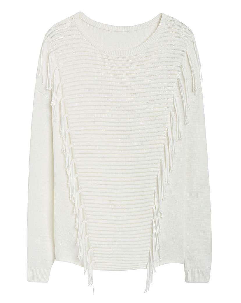 Product photo of Fringe jumper