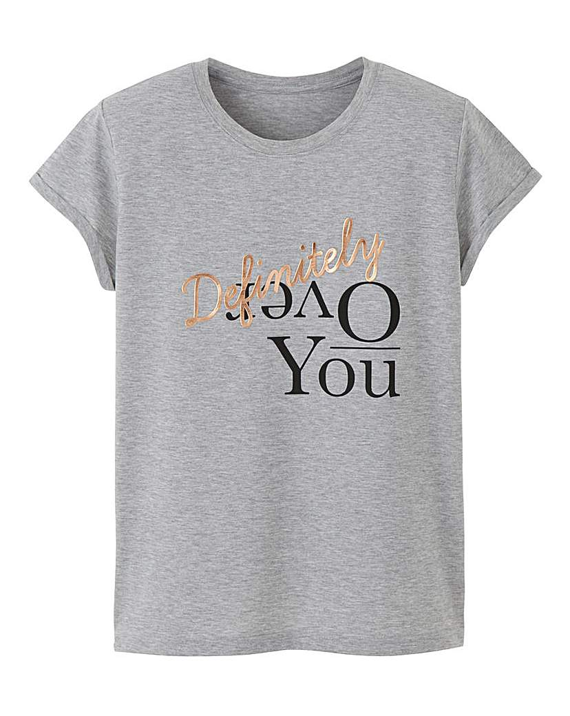 Image of Over You Tshirt