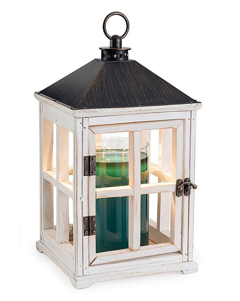 Wooden Lantern Candle Warmer