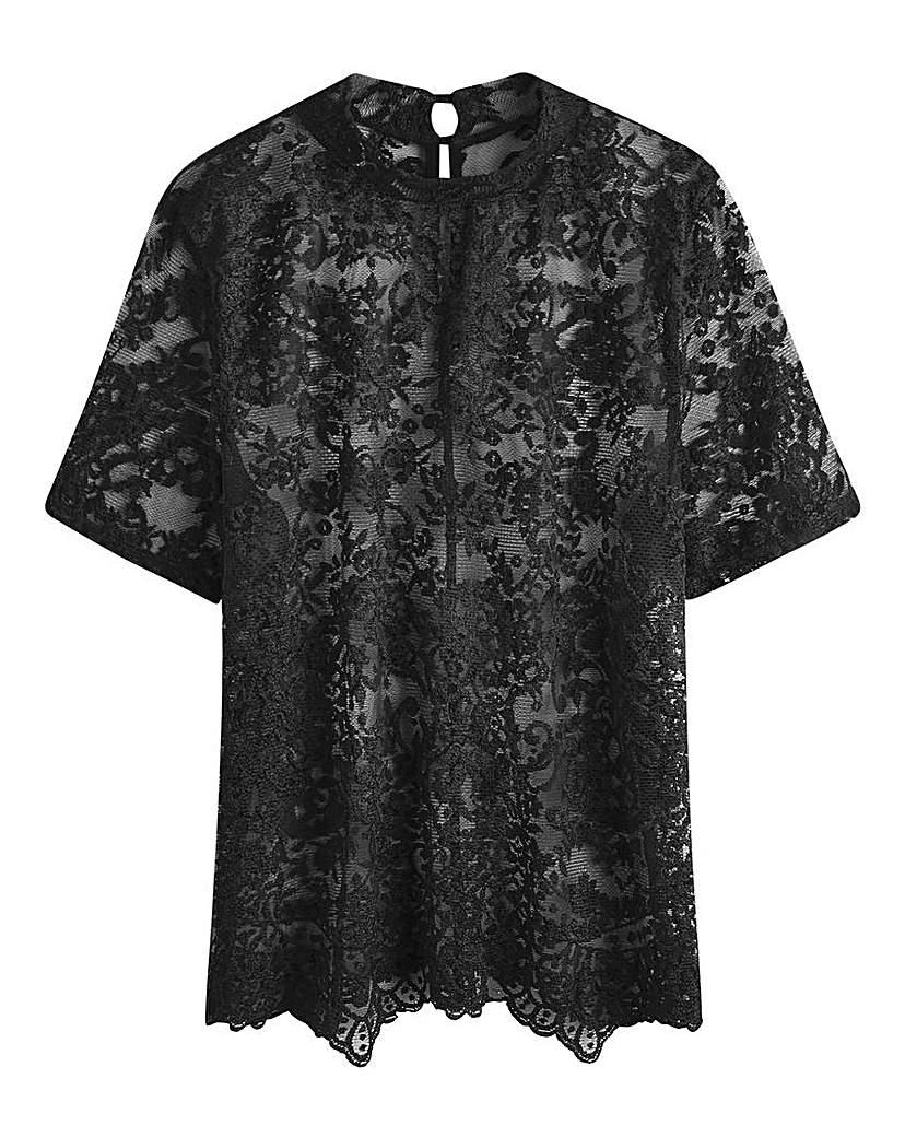Lace Top £28.00 AT vintagedancer.com