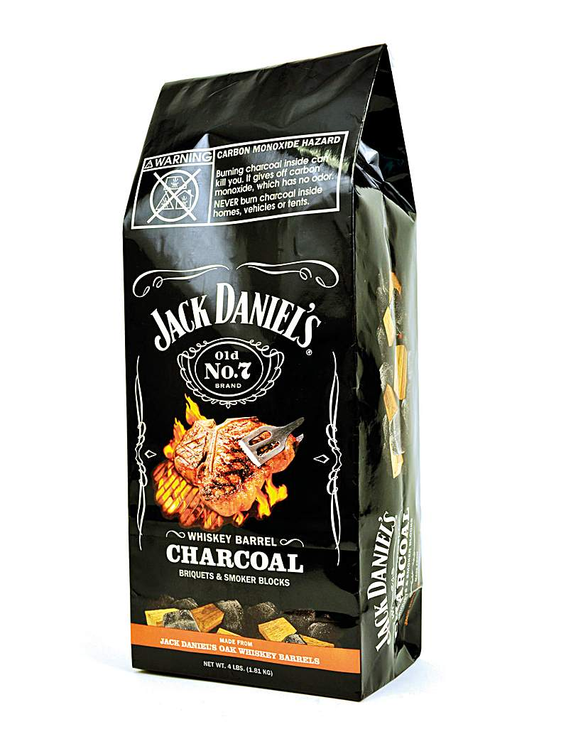 Jack Daniels Whiskey Barrel Charcoal