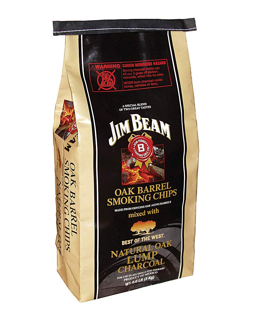 Jim Beam Natural Oak Lumpwood Charcoal