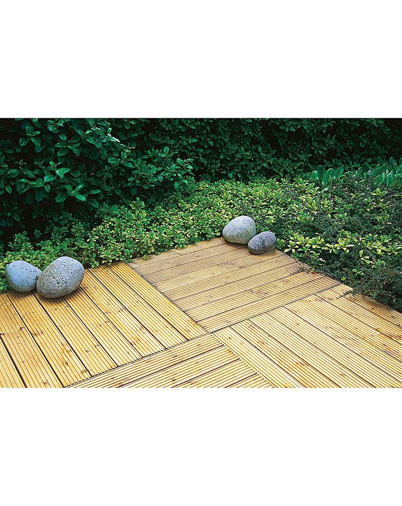 Image of Forest Patio Deck Tiles