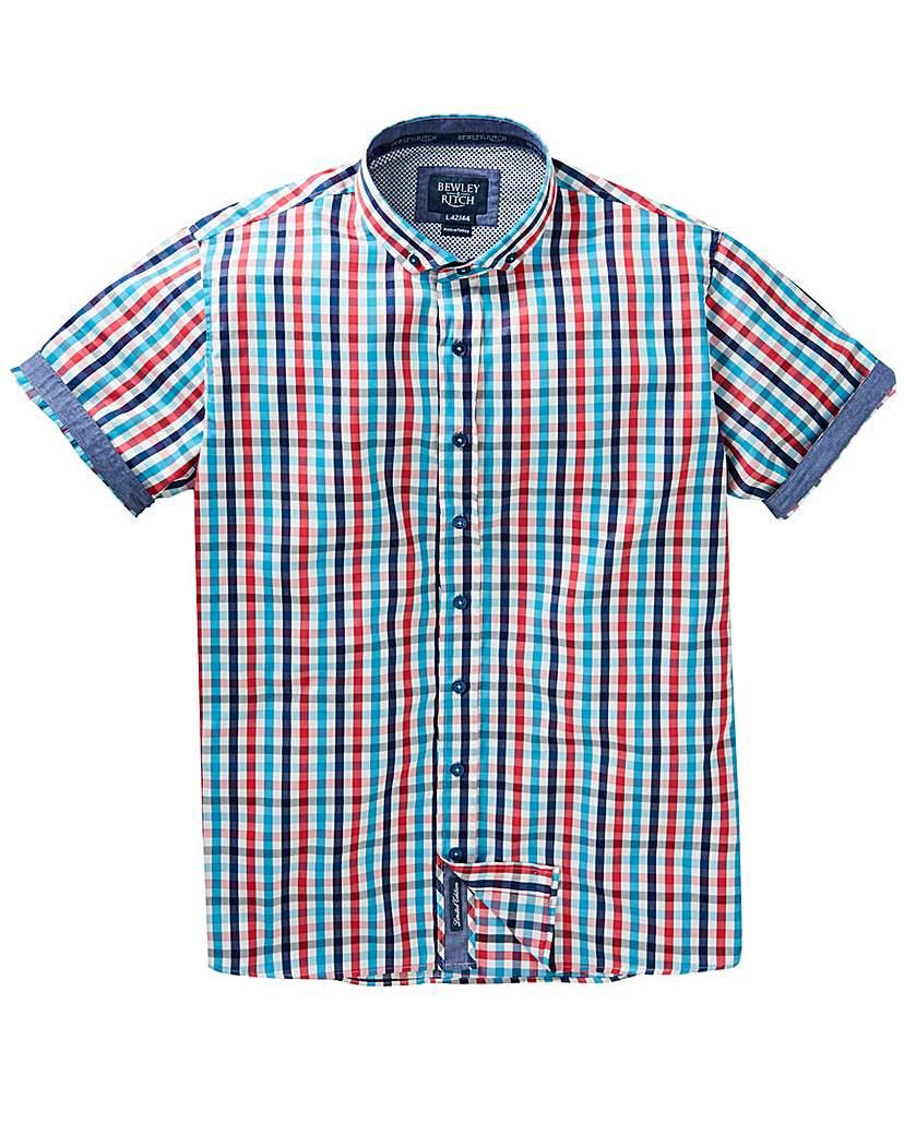 Image of Bewley & Ritch Check Shirt Long
