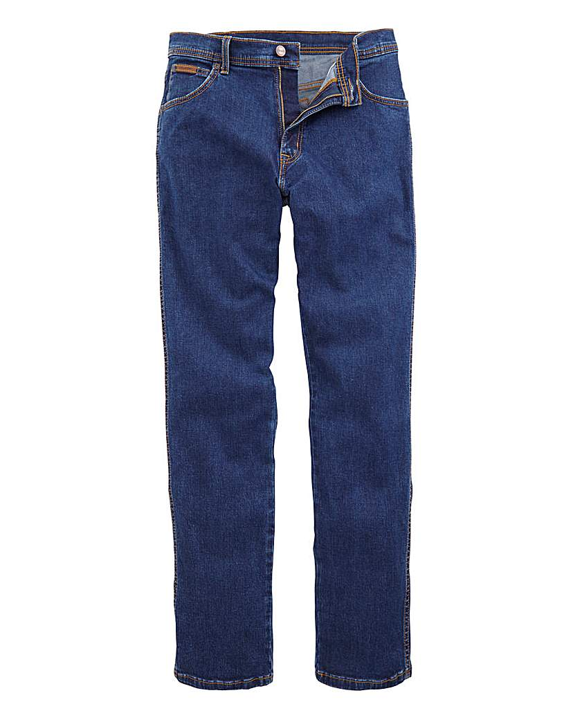 Image of Wrangler Texas Stretch DkStone 36 In Leg