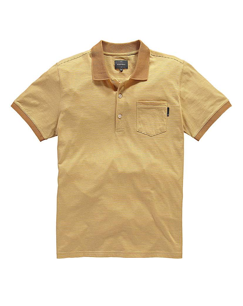 Peter Werth Clyde Polo £35.00 AT vintagedancer.com