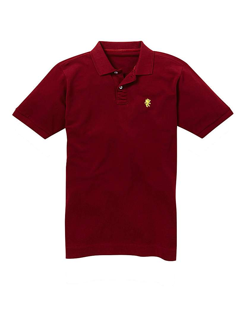 Capsule Wine Embroidered Polo Long at Marisota