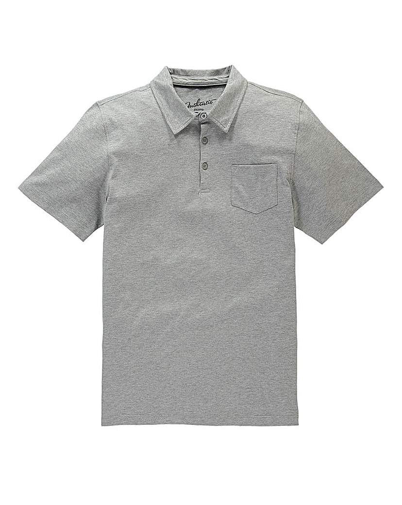 Capsule Grey Austin Jersey Polo Shirt R