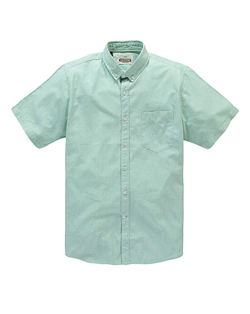 Jacamo Short Sleeve Raymen Shirt Regular