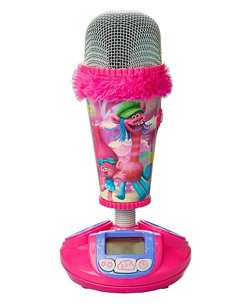 Image of Trolls Microphone Alarm Clock
