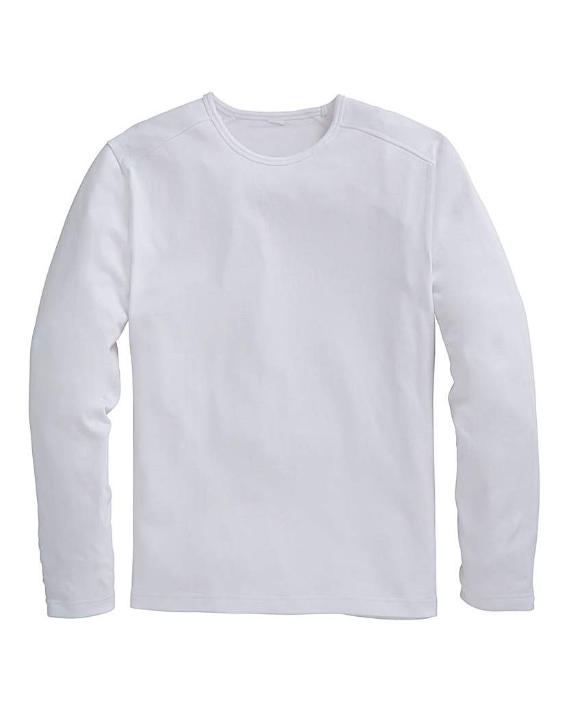 Southbay Long Sleeve Crew Neck T-Shirt at Premier Man Catalogue