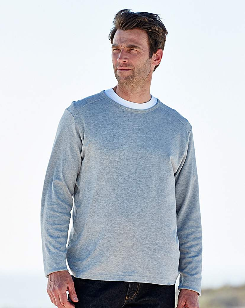 Southbay Long Sleeve Crew Neck T-Shirt.