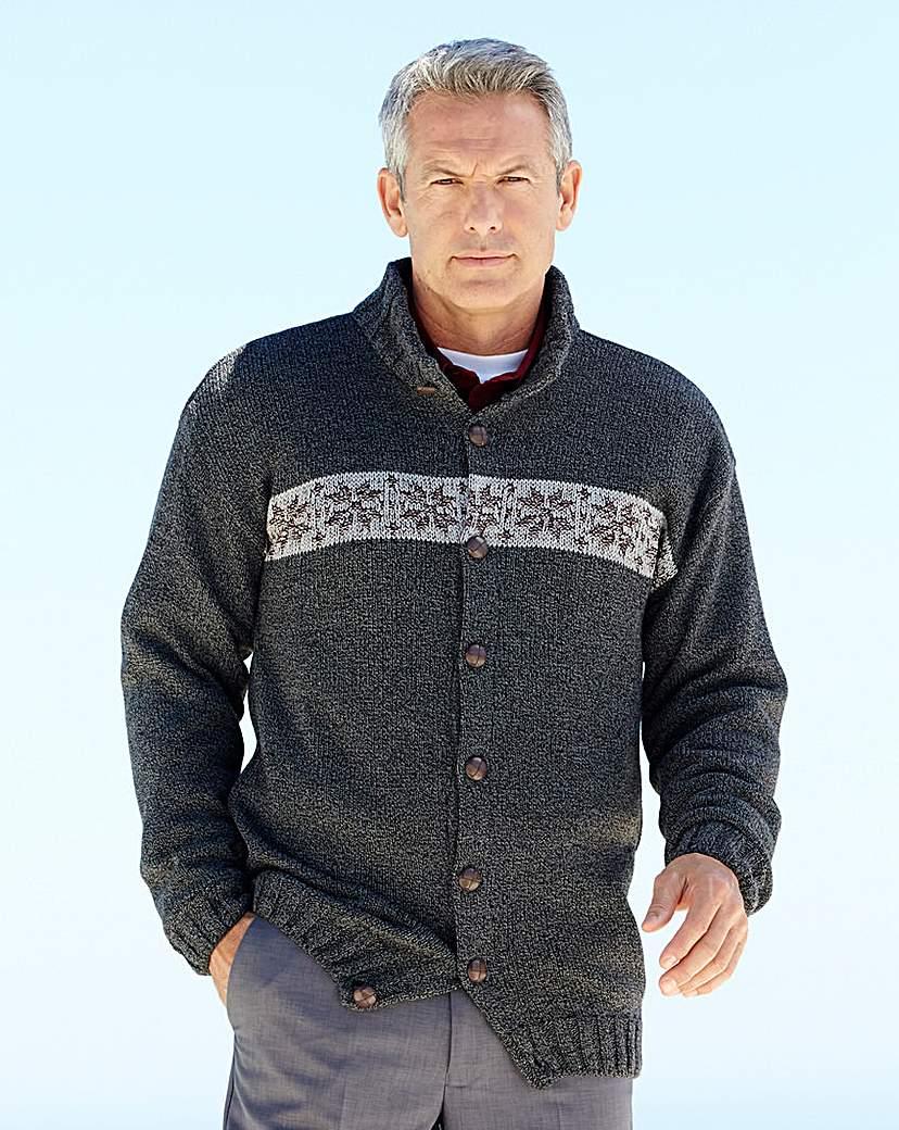 Premier Man Button Cardigan
