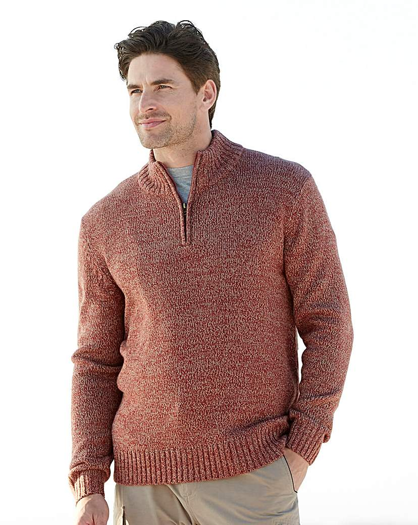 Southbay Zip Neck Sweater.
