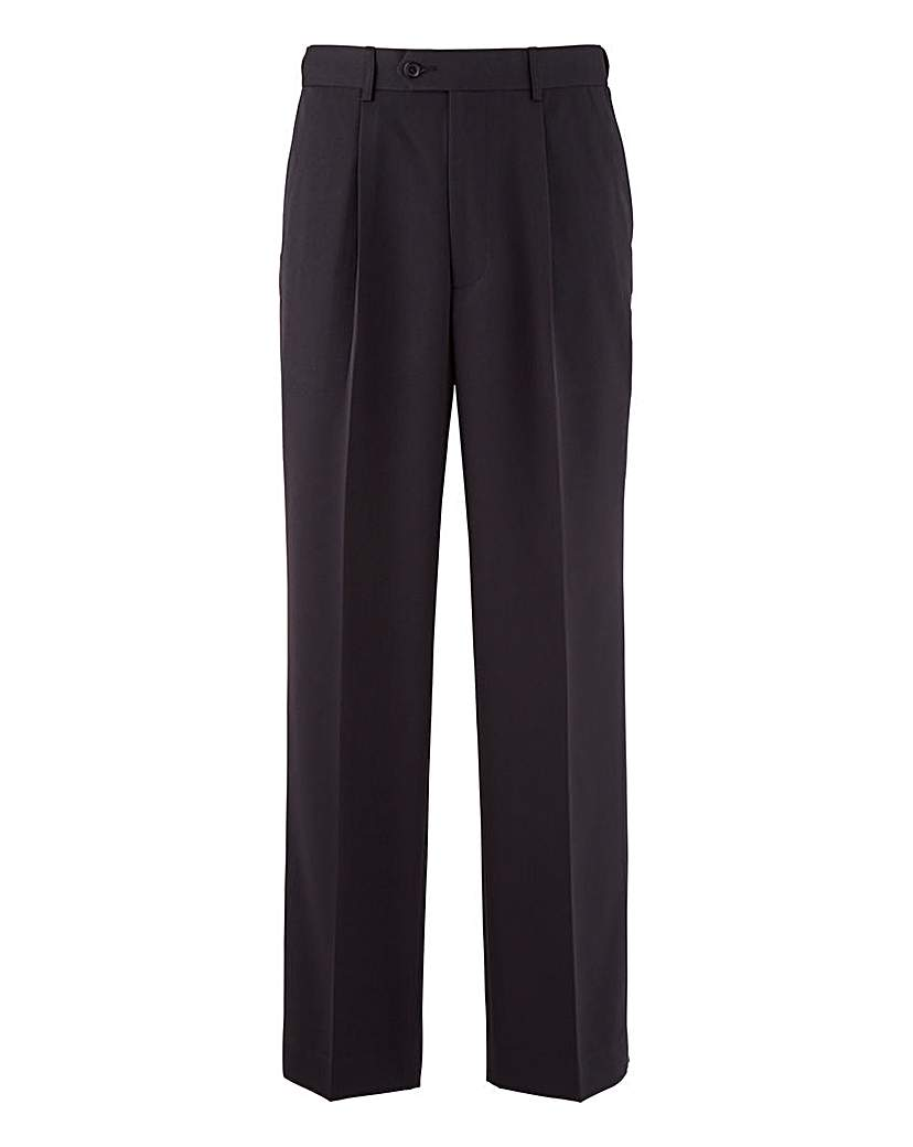 1940s Style Men's Pants and Trousers Premier Man Pleat Front Trousers 31in £20.00 AT vintagedancer.com