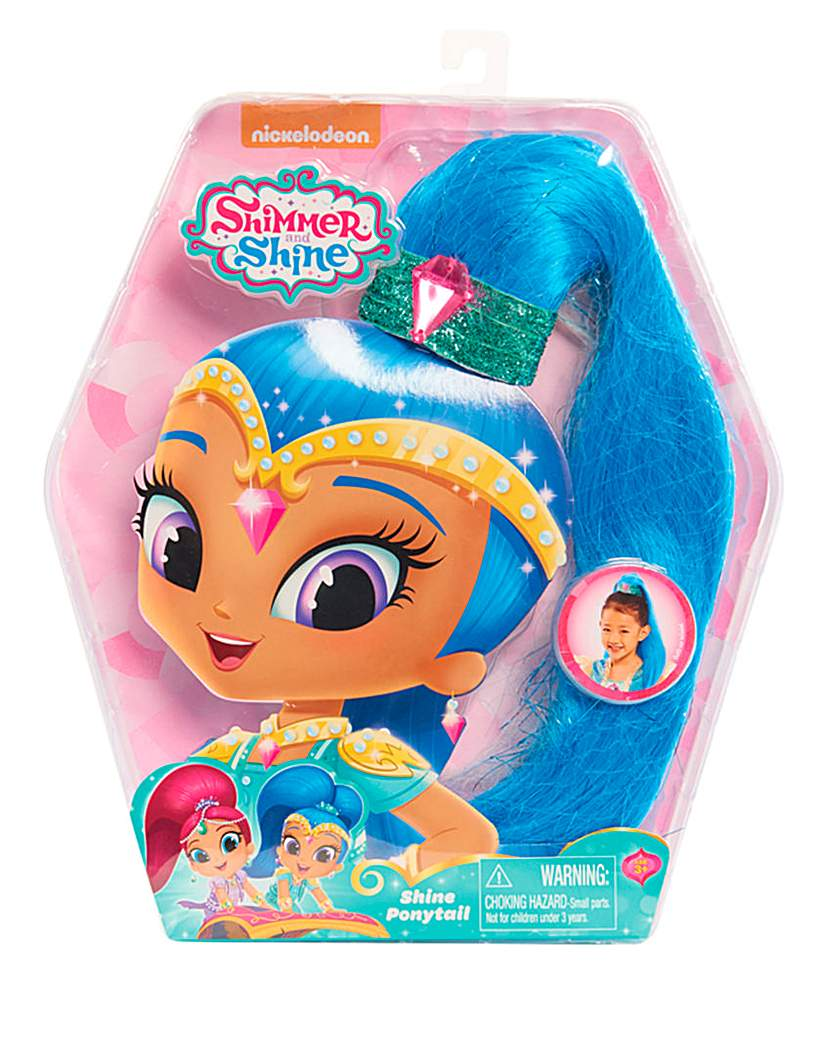 Image of Shimmer and Shine Pony Tail - Shine