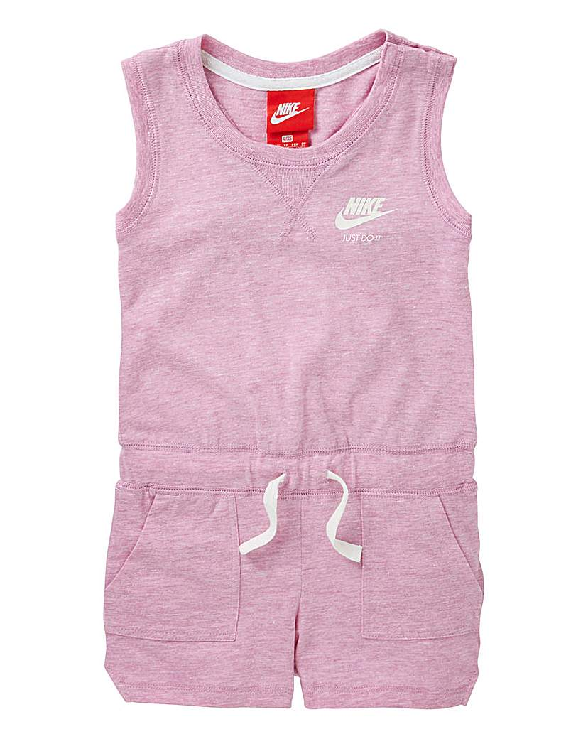 Image of Nike Young Girls Vintage Romper