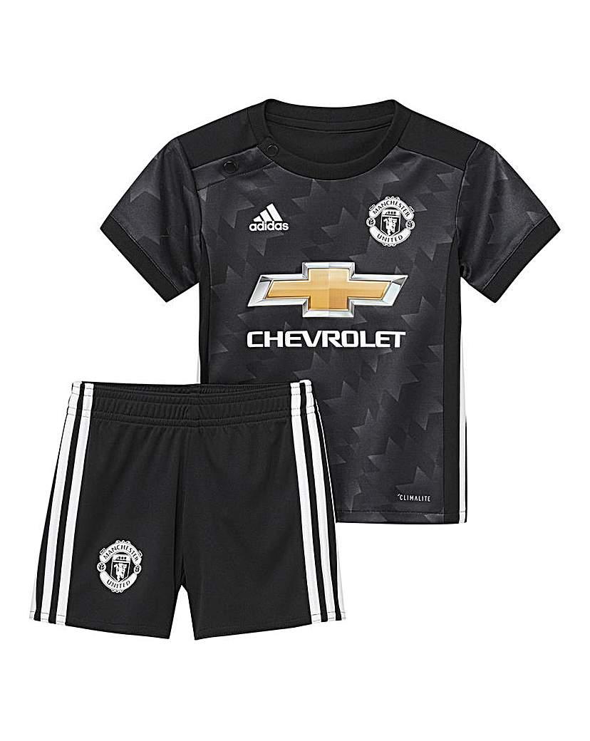 Image of Adidas Infants MUFC Away Mini Kit