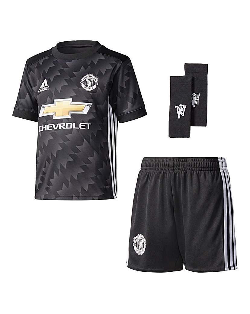 Image of Adidas Junior MUFC Away Mini Kit