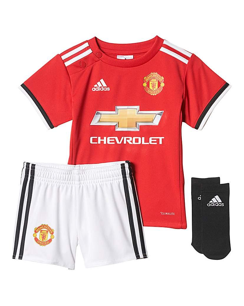 Image of adidas Infants MUFC Home Mini Kit
