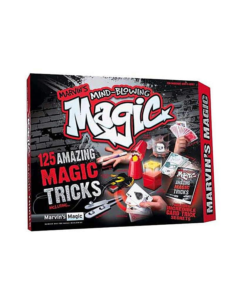 125 Mind Blowing Magic Tricks