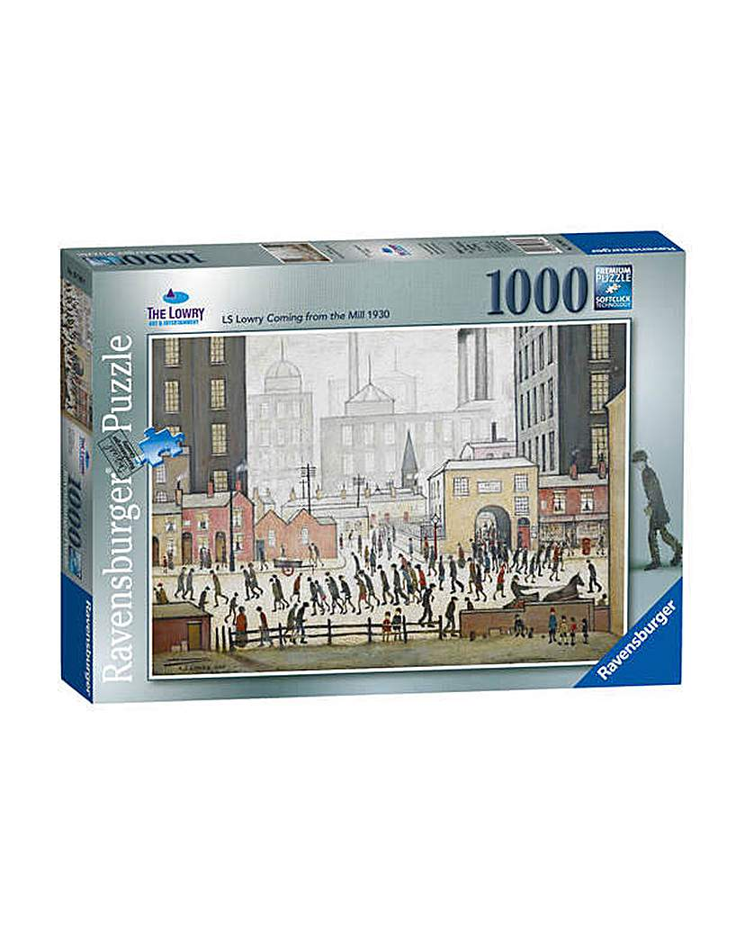 Image of 1000 Piece Lowry Puzzle.