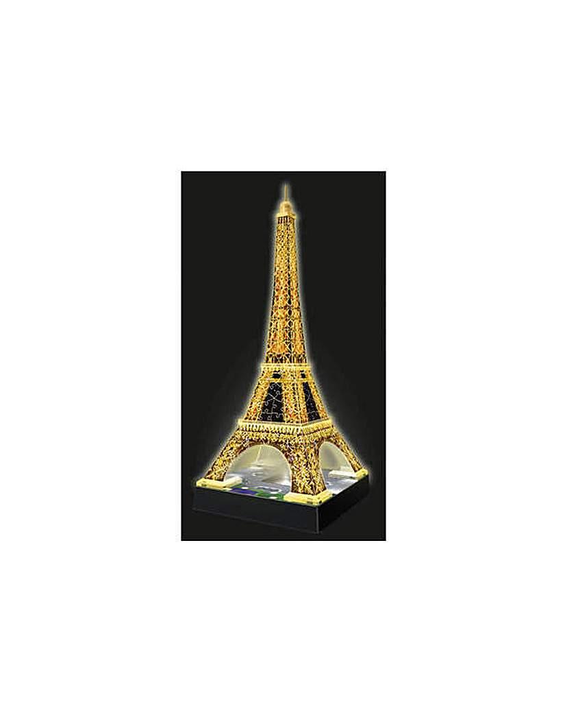 3D Light Up Eiffel Tower Jigsaw