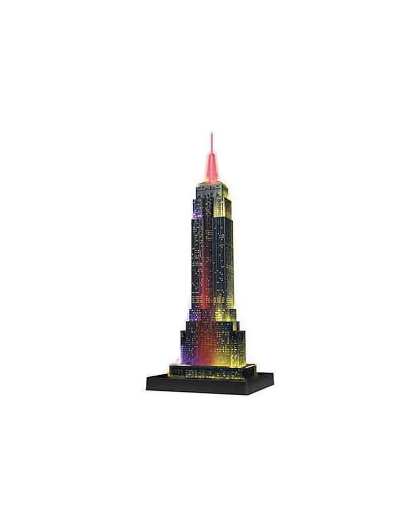 3D Light Up Empire State Building Jigsaw