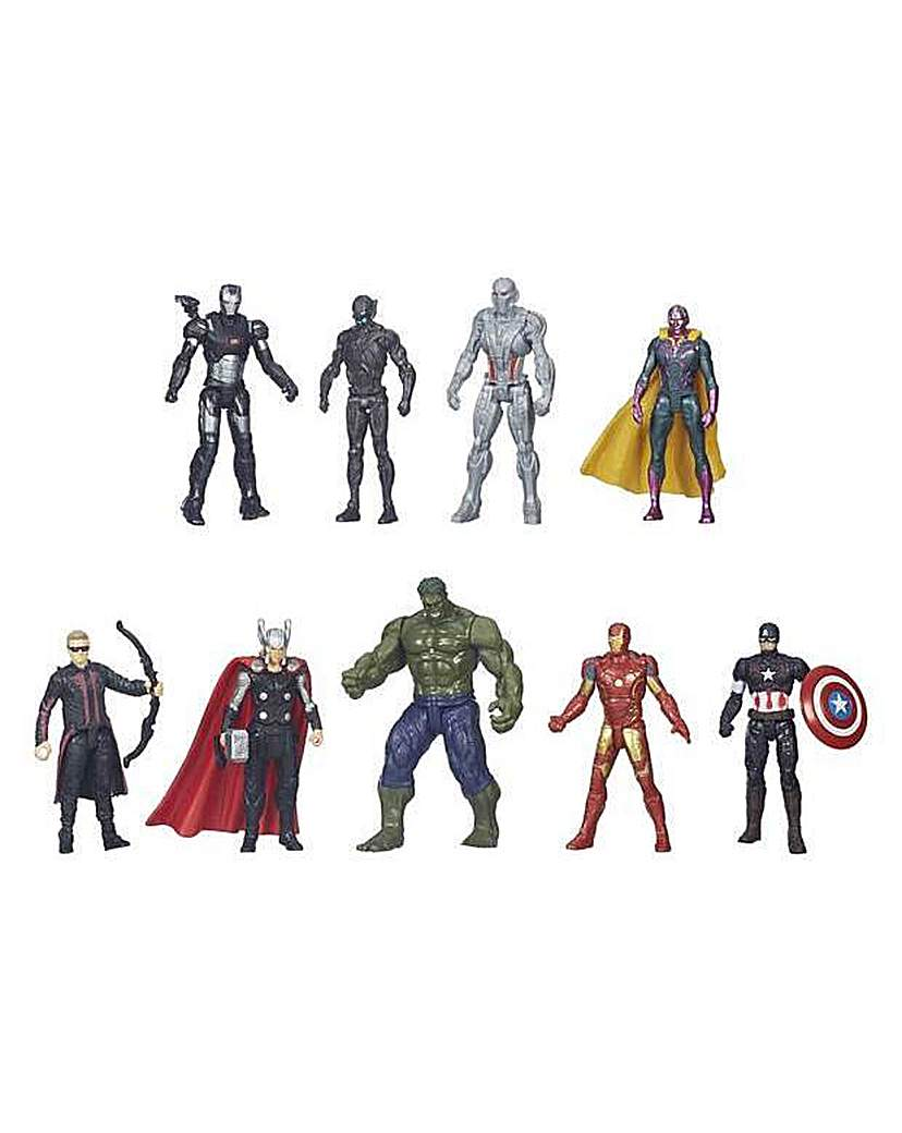 Image of Avengers 8 Figure Collection Pack.