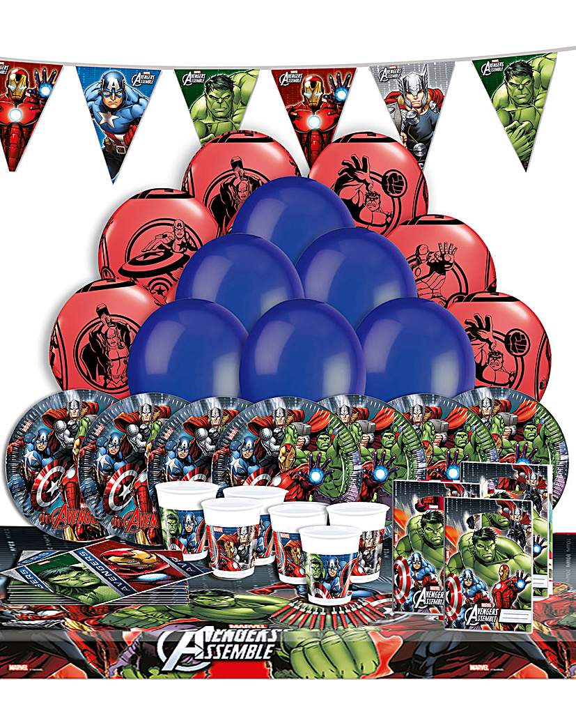 Image of Avengers Ultimate Party Kit for 16