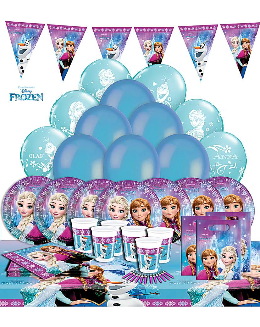 Product photo of Disney frozen ultimate party kit for 16