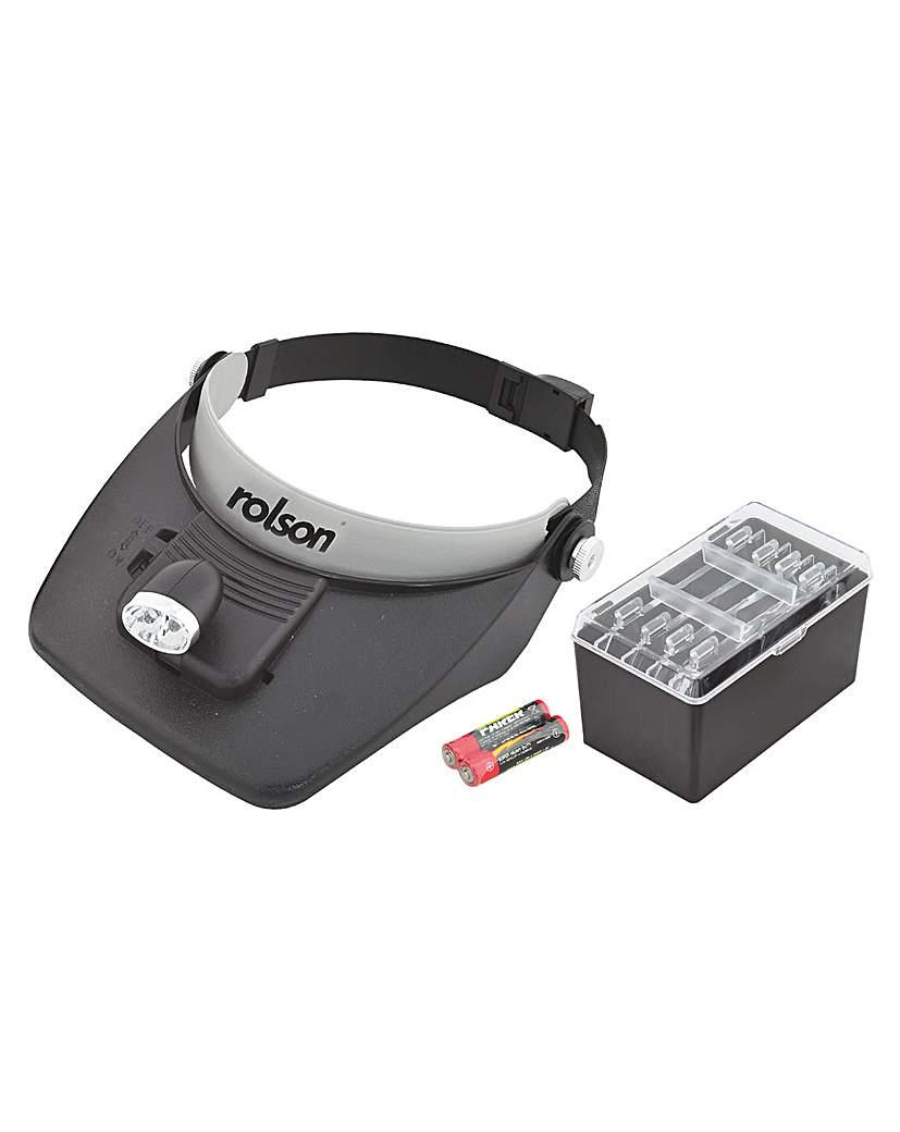 Image of Rolson 2 LED Magnifying Visor