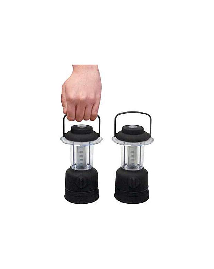 12 LED Mini Camping Lanterns - Set of 2