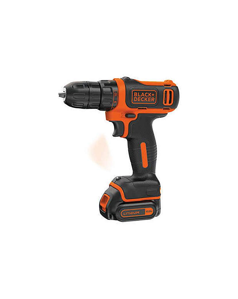 Black & Decker Li-ion Drill Driver-10.8V