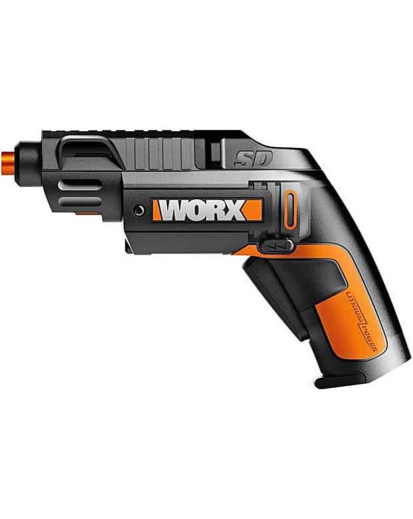 Worx WX254 Cordless Screwdriver - 4V
