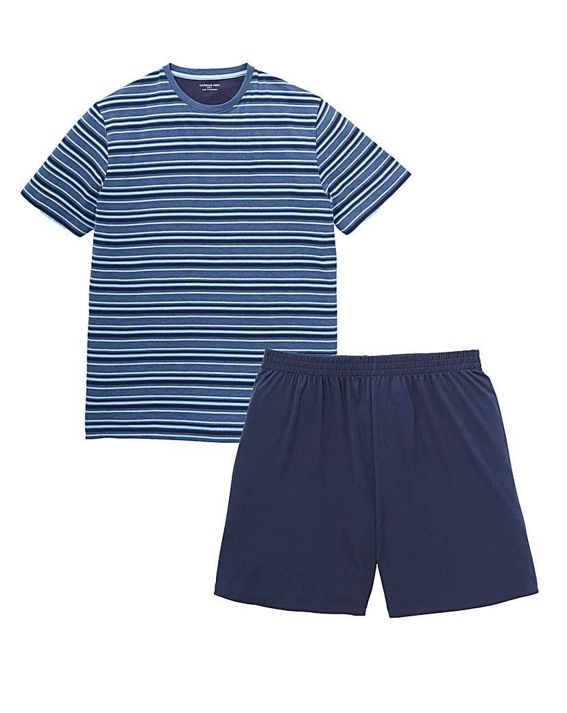 Capsule Striped Pyjama Set