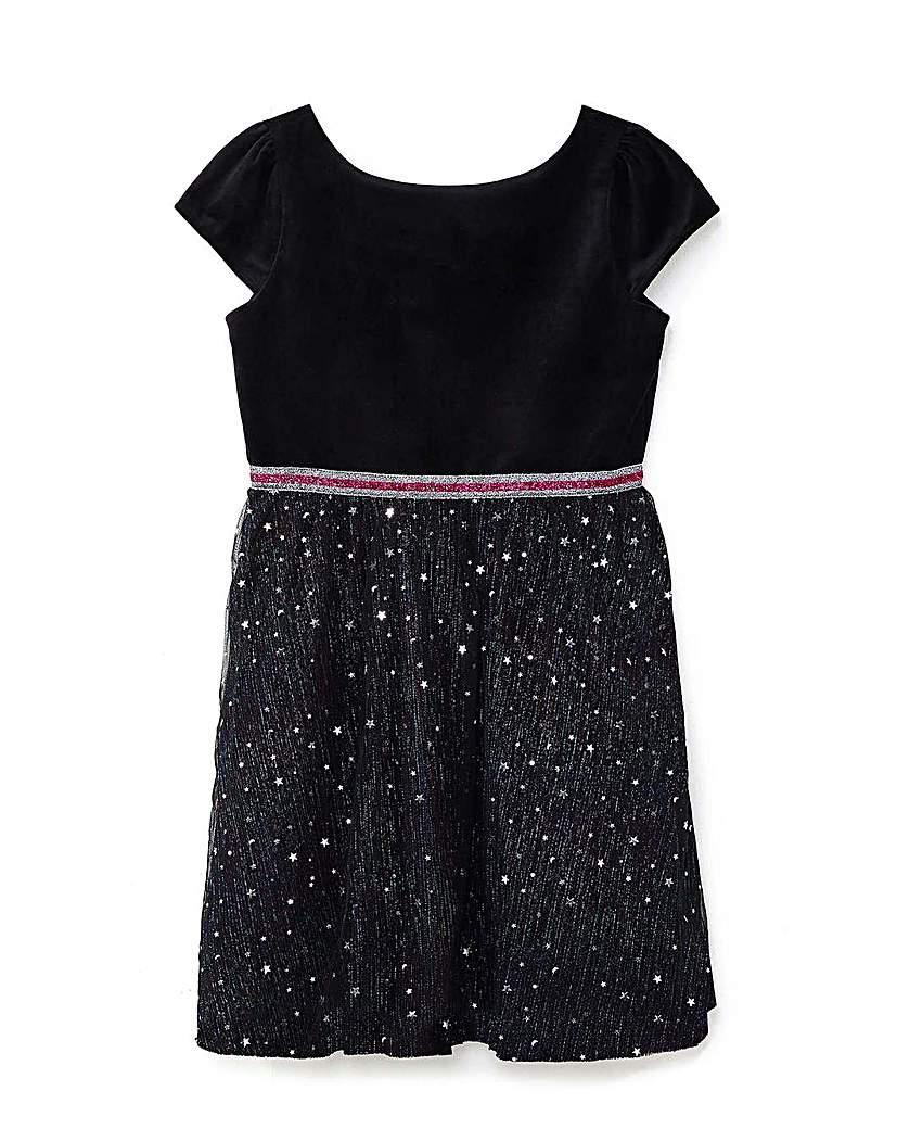 Yumi Girl Embellished Star Dress