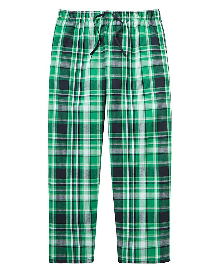 Capsule Check Woven Loungepants