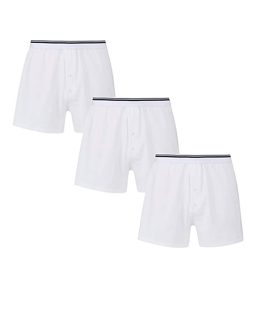 Capsule Pack of 3 Loose Fit Boxers