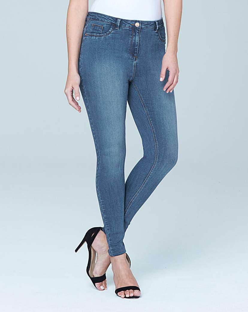 Sophia Supersoft Fly Front Jeggings Long.