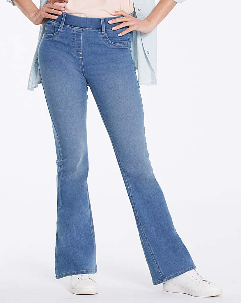 Erin Pull-On Bootcut Jeggings Regular.