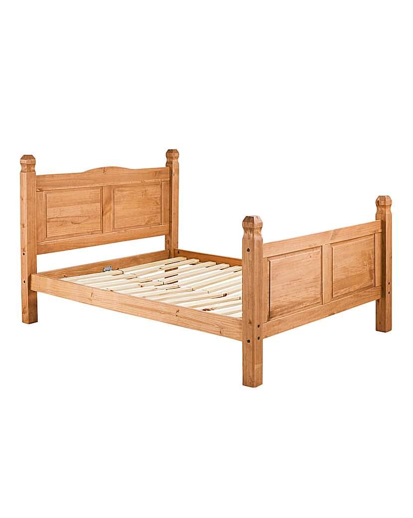 Corona Solid Pine Kingsize Bedstead